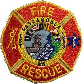 pascagoula fire department patch