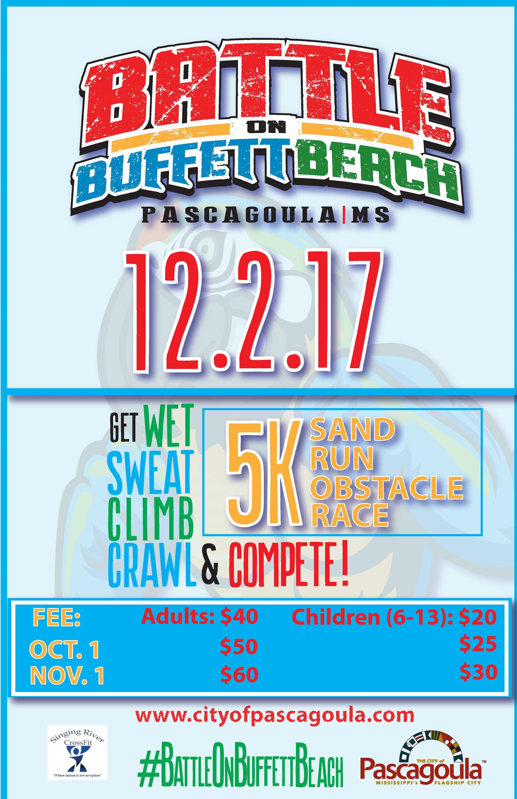 Battle on Buffett Beach Flyer 2017 070717