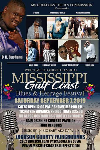 Blues and Heritage Fest 2019