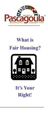 Fair Housing Icon, text What is Fair Housing? It's Your Right!