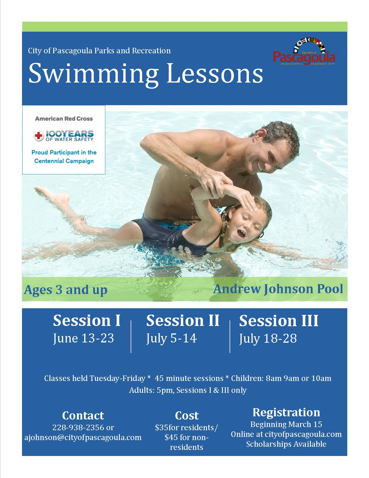 Swimming Lessons 2017