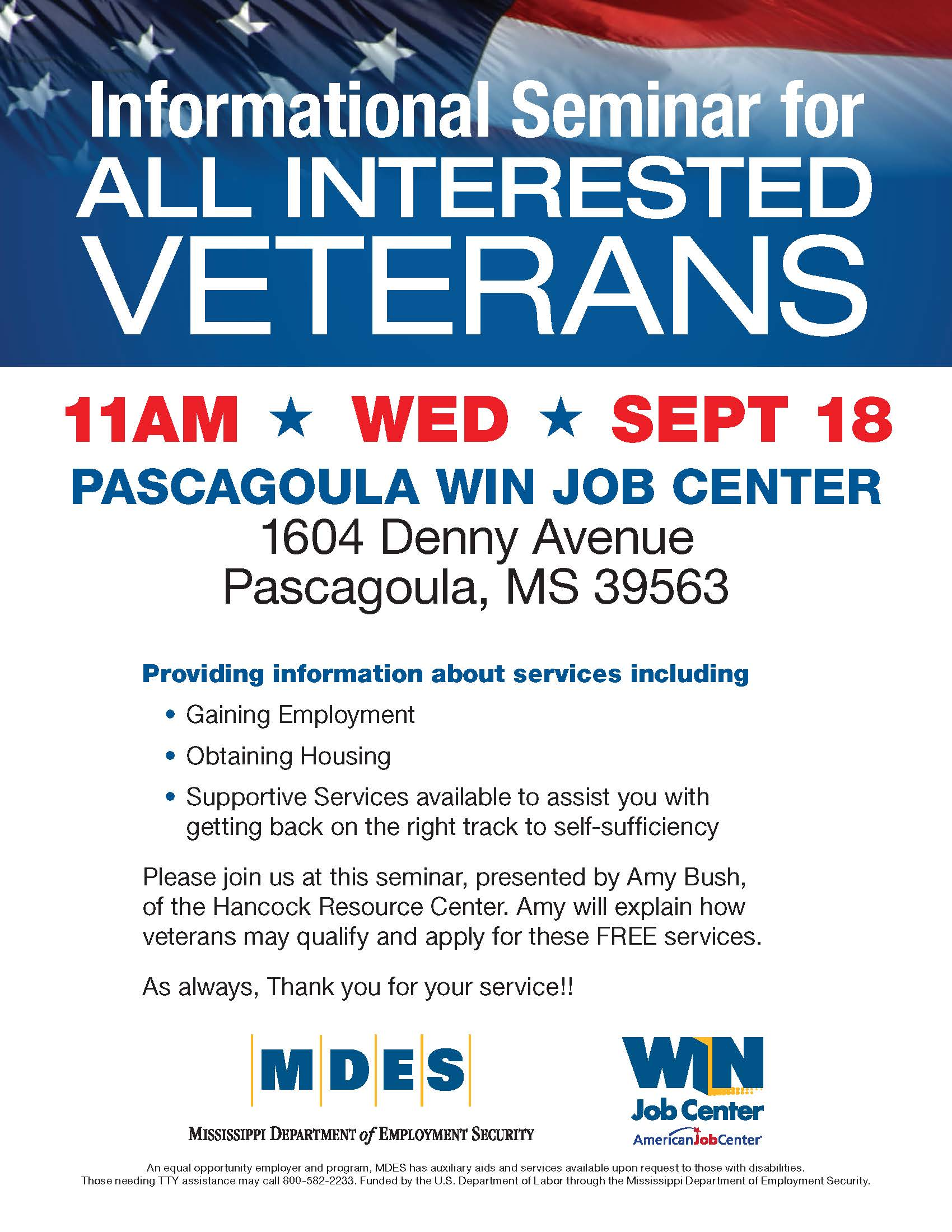VeteransTrainingEvent Sept 18